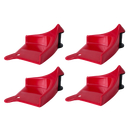 Detail Guardz Hose Guide 4er Pack rot