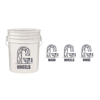 GYEON Wash Bucket Sticker Set 225 mm x 190 mm