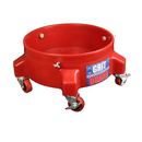 GRIT GUARD Rolluntersatz Dolly rot