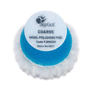 RUPES Blue Wool Polishing Pad Coarse Ø 40 mm